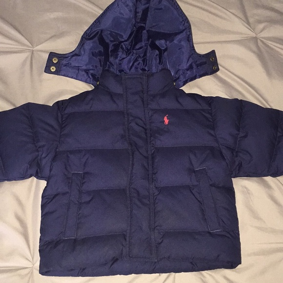 ccaf549c0 Polo by Ralph Lauren Jackets & Coats | Ralph Lauren Blue Puffy ...
